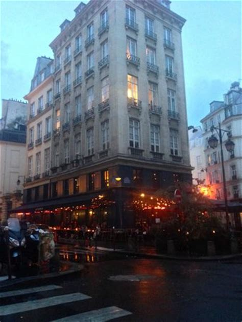 le hibou outside of the restaurant on a rainy magical picture of le hibou