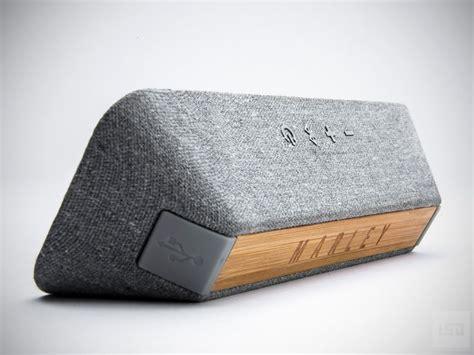 speaker designs liberate bluetooth speaker house of marley