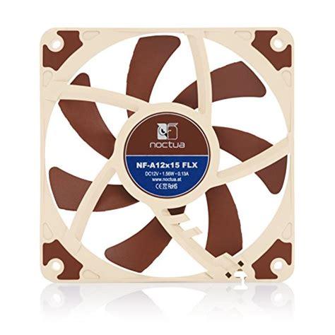 noctua 120mm slim fan noctua nf a12x15 flx premium quality quiet slim 120mm fan