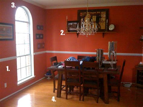 Burnt Orange Dining Room by Burnt Orange Dining Room Large And Beautiful Photos