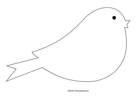 bird template printable clipart best