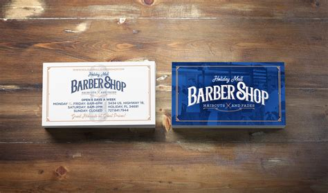 letterpress barber business cards free template by borce