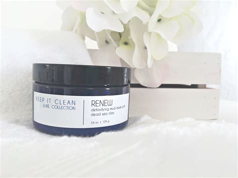 Detox Mud Mask by Renew Detox Mud Mask Keep It Clean Skincare