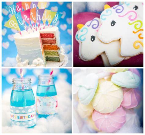 unicorn themed birthday party ideas kara s party ideas rainbow unicorn themed birthday party