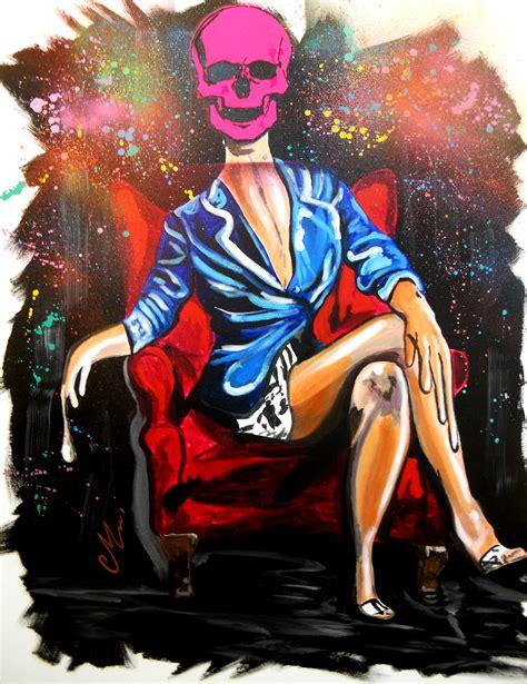 tableau vanite tableau design contemporain quot mademoiselle brazil quot peint 224