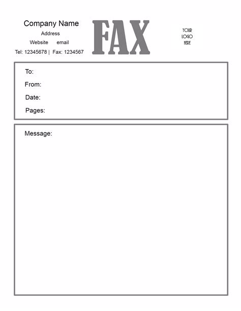 fax cover letter word template mollysherman