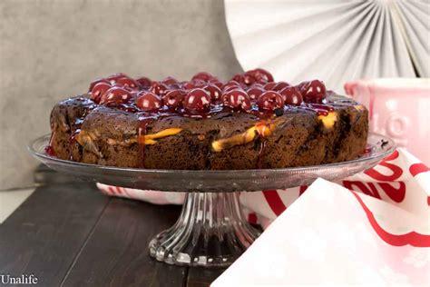kirsch vanille kuchen schoko kirsch kuchen mit vanille quark f 252 llung unalife