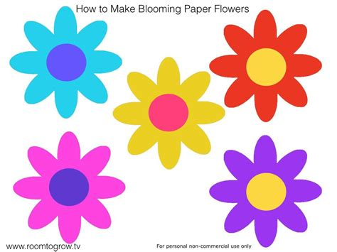 blooming flower how to make blooming paper flowers make play