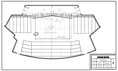 set design floor plan a set design for the divine sister designandtechtheatre