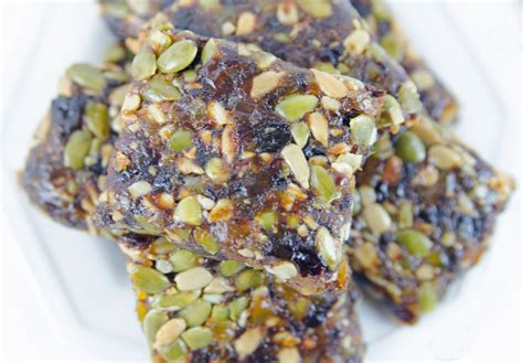 Healthy Seed Bar fruit and seed bars recipe dishmaps
