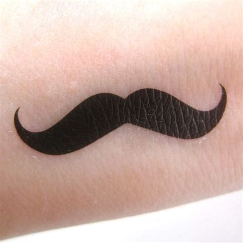 mustache finger tattoo best 25 mustache ideas on sailor