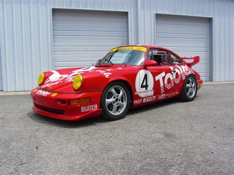 Porsche 964 Cup Car by 1992 Porsche 964 Carrera Cup Factory Race Car For Sale
