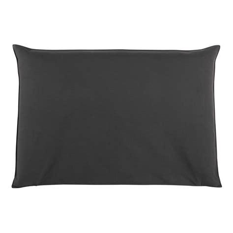 fodera testata letto fodera di testata da letto color antracite 160 cm soft