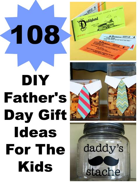 ideas for fathers day 108 diy s day gift ideas for the and