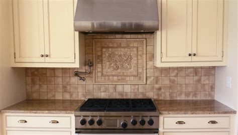 kitchen backsplash medallions kitchen backsplash mozaic insert tiles decorative