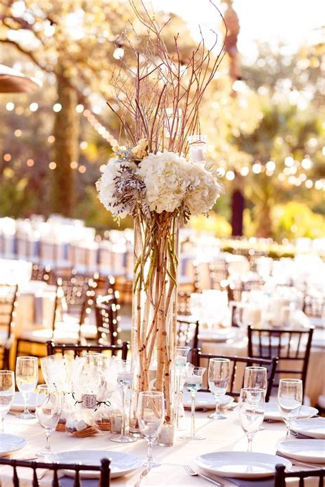 white branches centerpieces white birch branches centerpieces centerpieces will