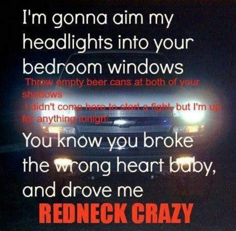 Into Your Bedroom Window Lyrics Rednecks And Songs On