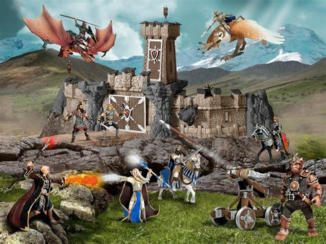 B1 Warwolf Gaming Set T schleich figure with crossbow toys