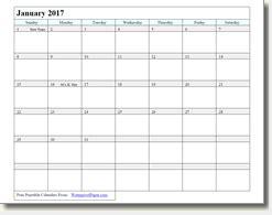 printable calendar waterproof waterproof paper january 2016 calendar template 2016