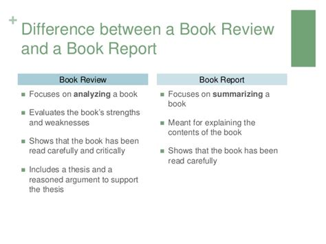 Difference Between Lab Report And Essay by Writing A Book Review