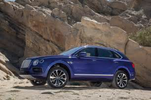 Bentley Suv Msrp Bentley Bentayga Review And Rating Motor Trend