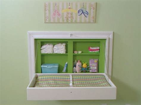 Fold Away Changing Table How To Build A Fold Away Changing Table Tables Change Tables And Changing Tables