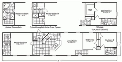 the best of 18 x 80 mobile home floor plans new home