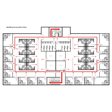 Building Evacuation Plan 1 Building Evacuation Map Template