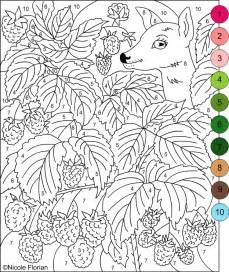 color by number for adults s free coloring pages color by numbers