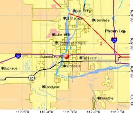 avondale arizona map avondale arizona az profile population maps real