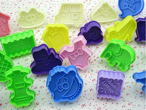 3d Biscuit Mold Cookie Cutter Press 15 2017 bakeware 3d stereoscopic biscuit mold