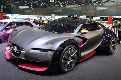 citroen survolt citroen survolt car design news