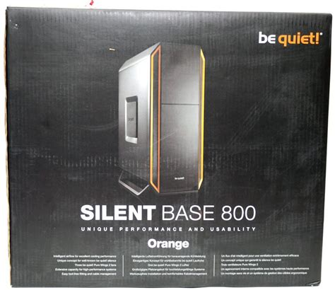 D1163 Be Gaming Silent Base 800 With Side Wind C1163 be silent base 800 mid tower chassis review eteknix