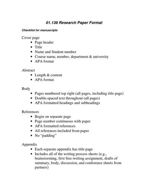 apa format checker apa format check list scope of work template