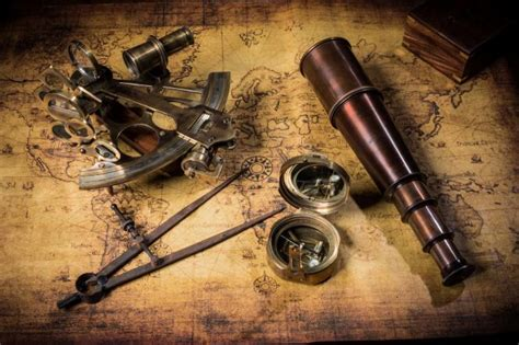 sextant compass wallpaper compass pirates pipe old casket sextant