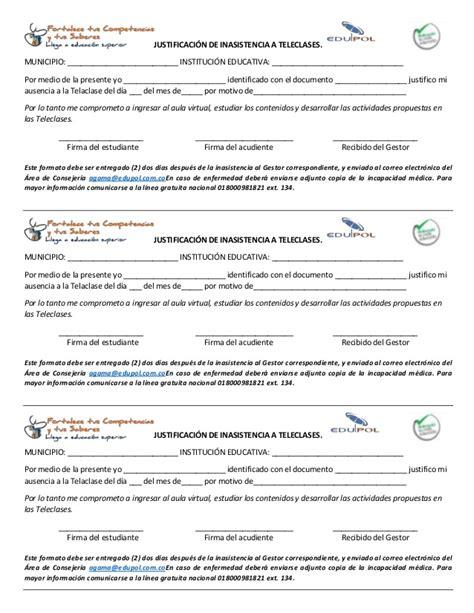 formato pago incapacidad cafesalud descargar formato de excusa medica o incapacidad medica