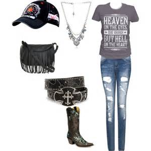 Fashion church outfit eric church concert created by wisconsingirl17 4