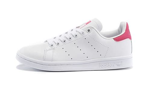 new style adidas originals stan smith s s white pink shoes d67363