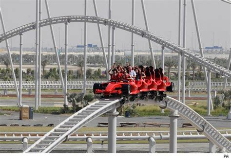 Fastest Roller Coaster In Ferrari World by The World S Fastest Roller Coaster Opens In Dubai Aol