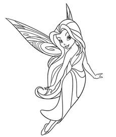 silvermist coloring page silvermist flying in disney fairies coloring page