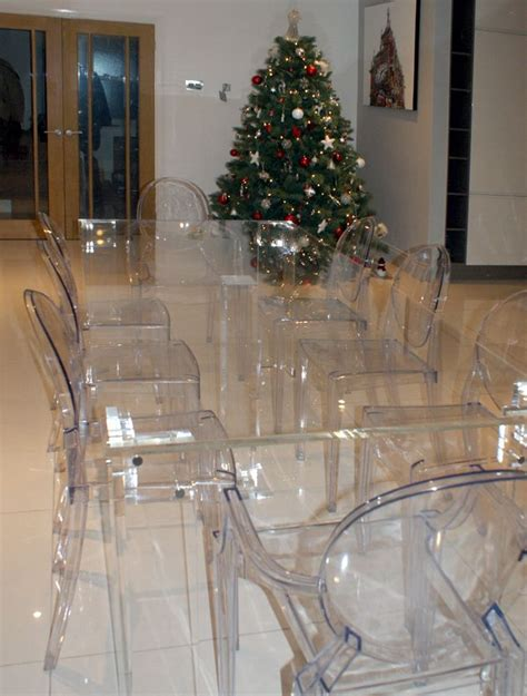 acrylic dining table and chairs 8 seater dining table transparent furniture
