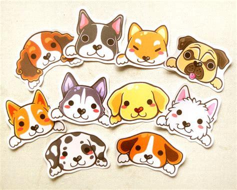 puppy stickers stickers animal sticker kawaii sticker laptop decal waterproof sticker gift