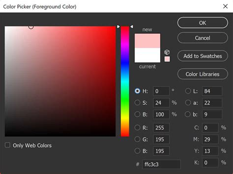 photoshop tip my photoshop color picker looks strange
