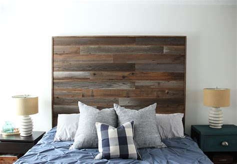 how to make wooden headboard how to make a diy wooden headboard fresh crush