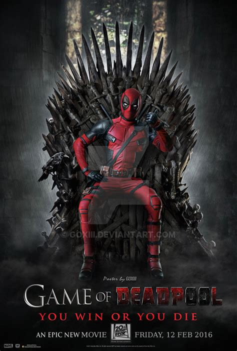 wallpaper deadpool game of thrones game of deadpool by goxiii on deviantart