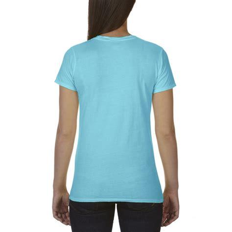 gildan comfort colors cc4200 comfort colors ladies tee lagoon blue gildan