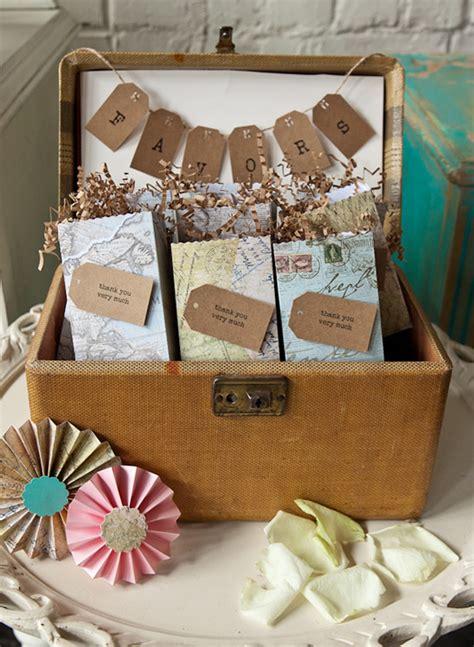 Wedding Box Travel by Vintage Travel Wedding Ideas