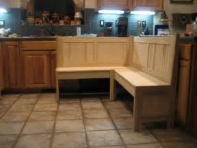 kitchen corner bench for a nook by 7kcraftsman