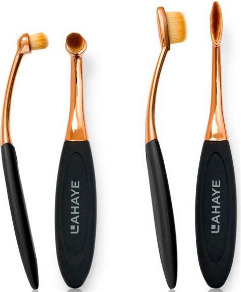 Set Of 14 Make Up Brush lahaye 187 make up brush set circle linear 171 pinselset 2
