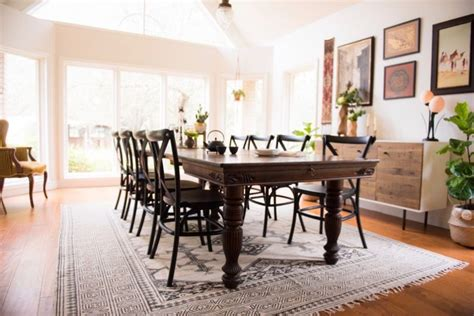 eclectic dining room tables global eclectic dining room reveal daly digs